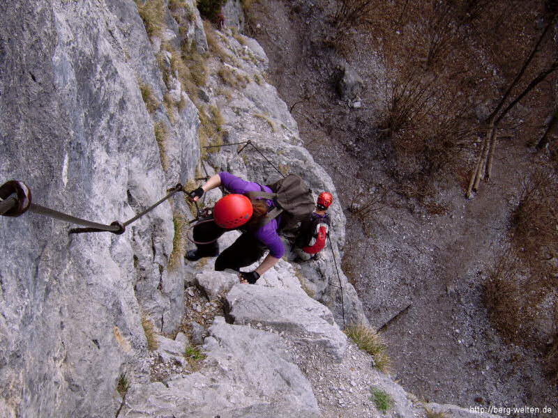 Kaiser Max Klettersteig : Kaiser max klettersteig