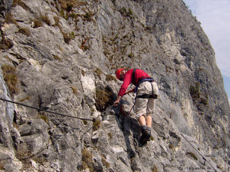 Kaiser Max Klettersteig : Kaiser max klettersteig e climb and hike